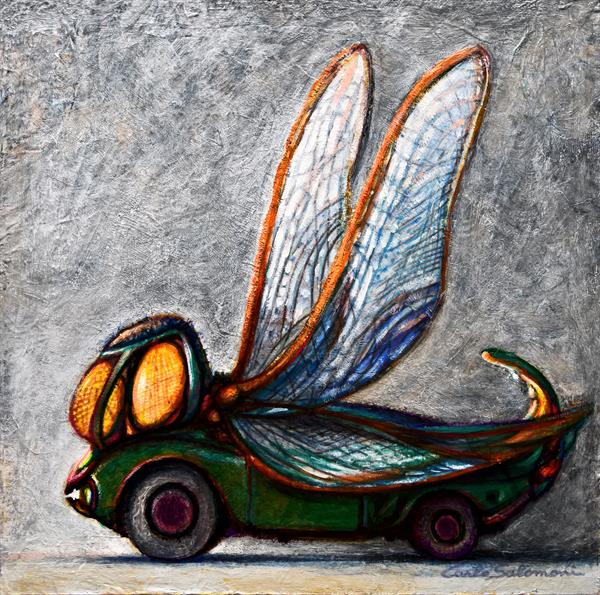DRAGONFLY CAR by Carlo Salomoni
