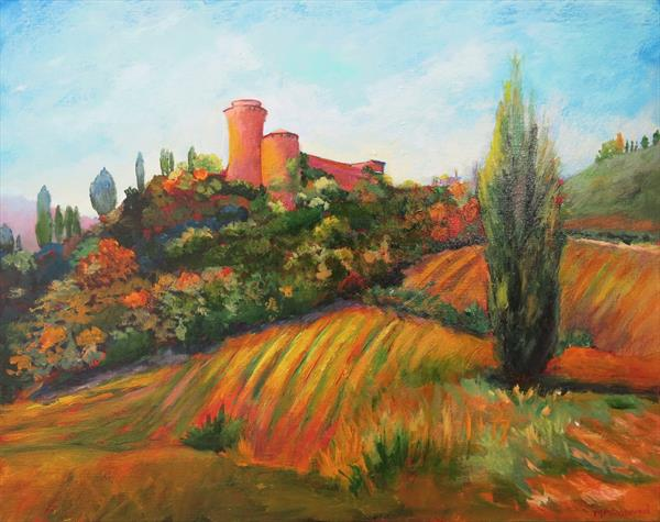 Brisighella, Italy by Maureen Greenwood
