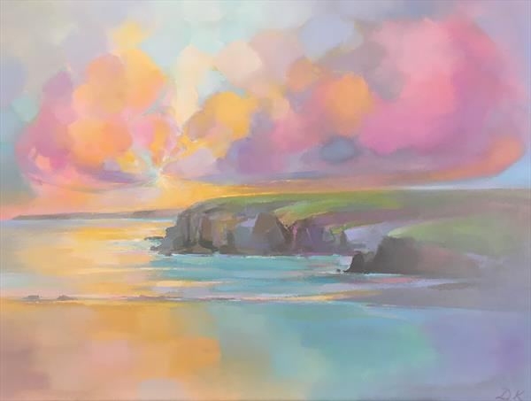 West side cliffs 2 by Donald  Macleod