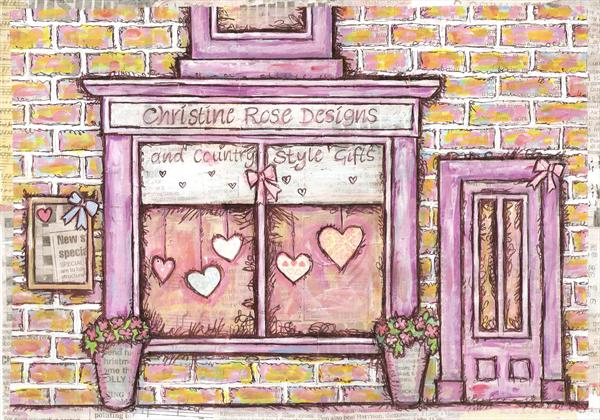 Christine Rose Designs Shop Front by Ruth Bilham