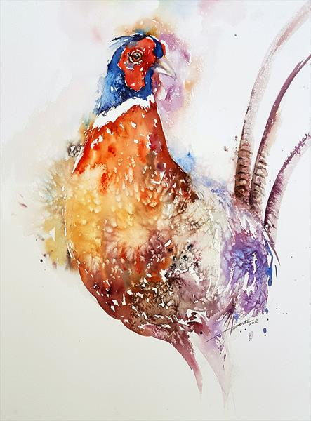 Roul the Pheasant by Arti Chauhan