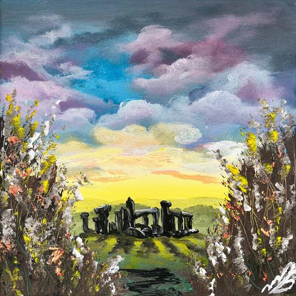 Stone Henge on a Solstice Morning by Marja Brown