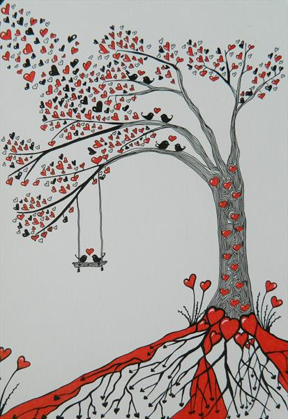The courting tree