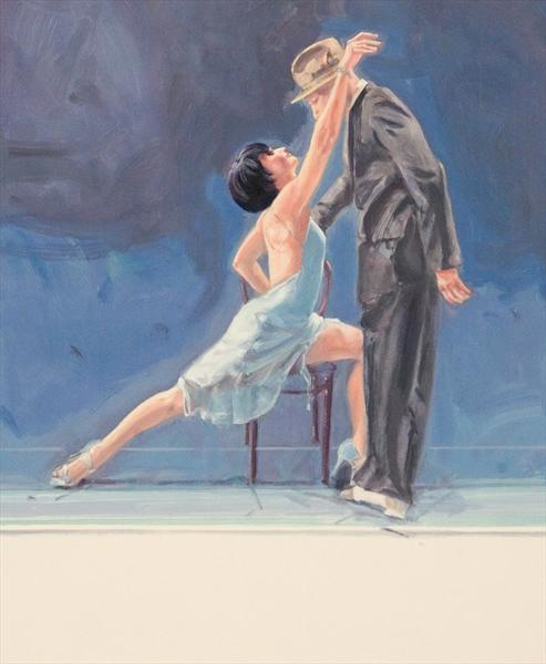 Midnight Tango (Oil Study 1) by Charles Willmott