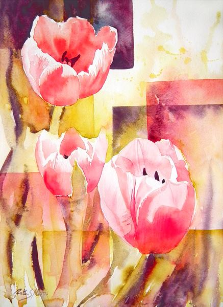 Tulip Cubed by Ruth Harris