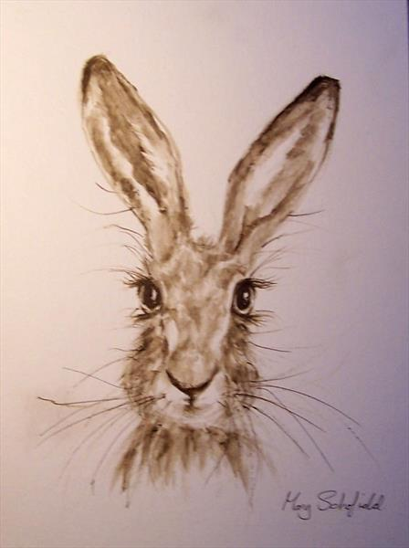 Hare 25 by Mary Schofield