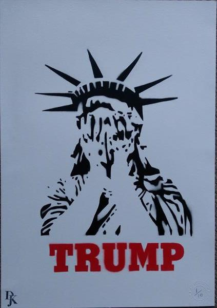 Weeping Trump by kevin matheson