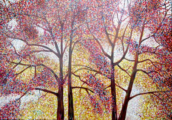 Trees 3 by Roz Edwards