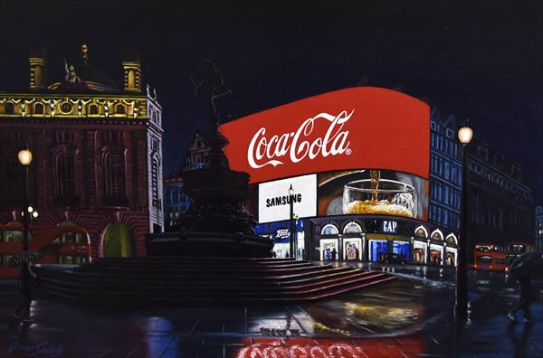 Piccadilly Lights by Omar Shelleh
