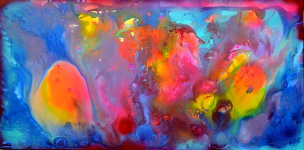 Perfect Harmony XVIII - Abstract Painting - Ready to Hang, Office, Home, Hotel, Restaurant Decor by Soos Tiberiu - Anton