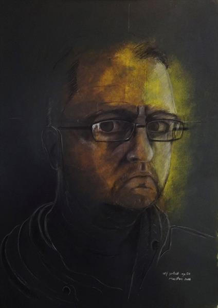 A Portrait of Mark Aged 50 by Mark Masters