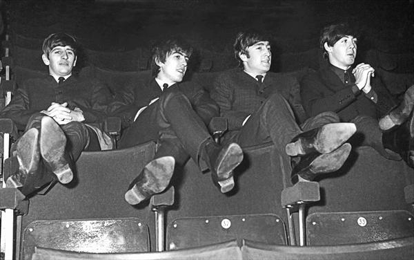 The Beatles - Kicking Back - Limited Edition of 49 by Paul Berriff