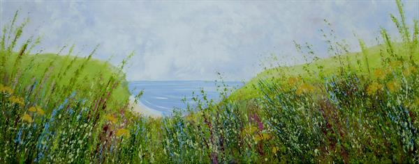 Clifftop Meadow by Elaine Allender