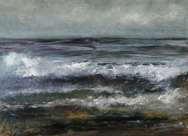 Storm Sea, Dunoon  by James  Lamond