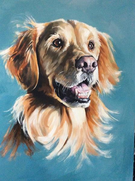 Golden Retriever by sharon coles