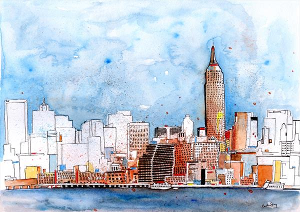 Love NYC by Callan Percy