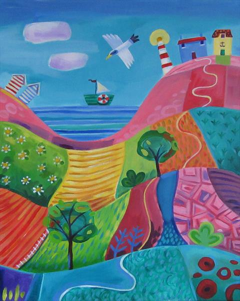 Road to the Sea by Emily Skinner