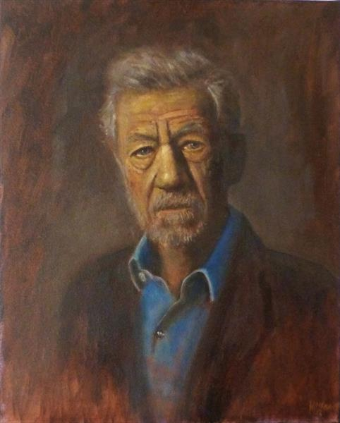 Sir Ian McKellan by David Moore