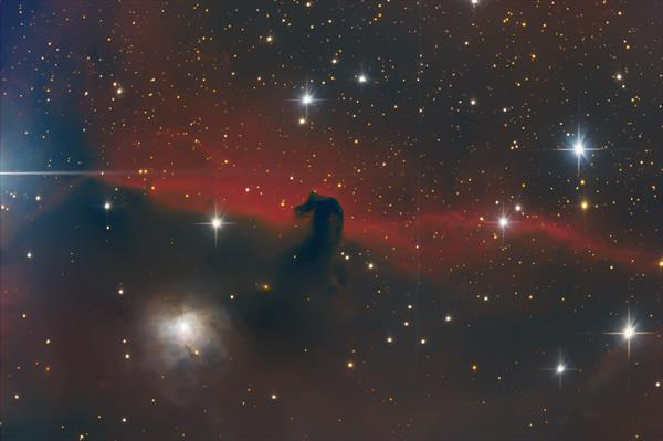 IC434 - Horsehead Nebula by Simon Todd
