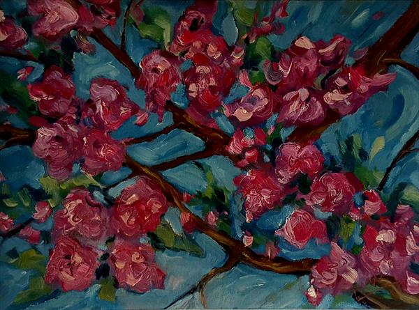 Apple Blossom Dance by niki purcell
