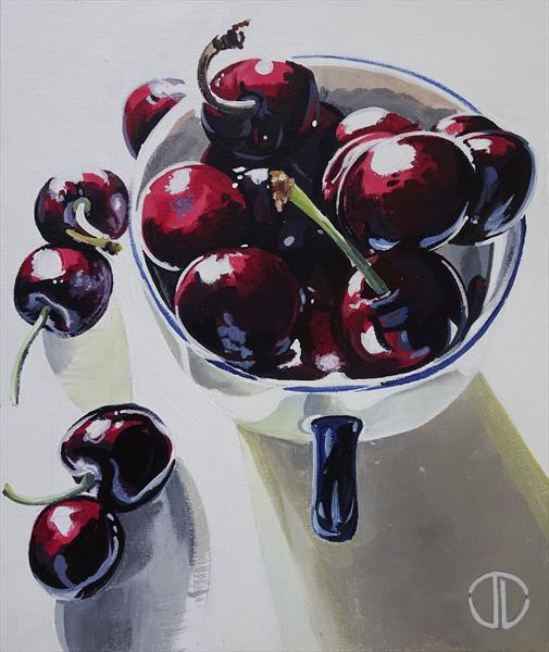 Sunshine And Cherry Red 2019 by Joseph Lynch