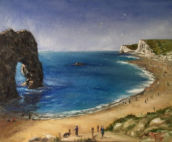 Durdle Door - Dorset, England  by Marcela Rogel de Pepper