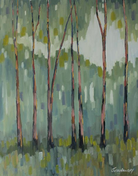 The Tall Trees by John Halliday