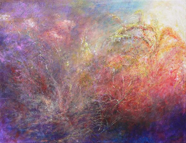 Garden Dreams (on display at Art Gallery, Tetbury)