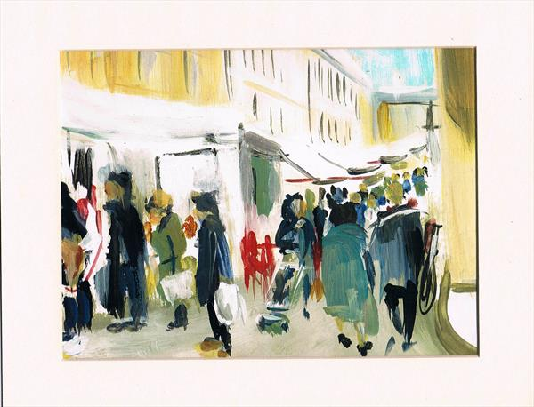 Stamford Market by Maureen Lacey