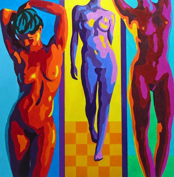 THREE NUDES by Stephen Conroy