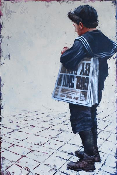 The seller of newspapers. by Igor Shulman