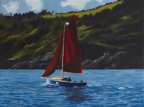 Red Sails by Ruth Archer
