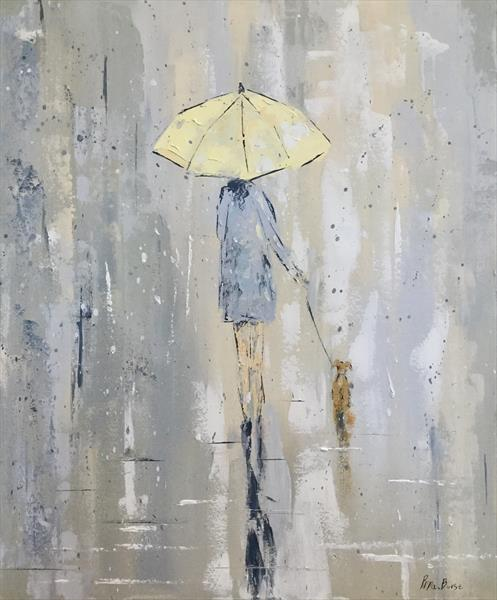 Monday Rain  by Pippa Buist