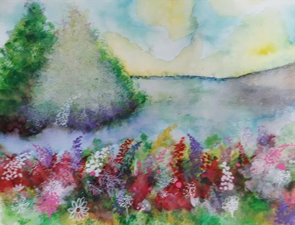 By The Riverbank by susan wooler