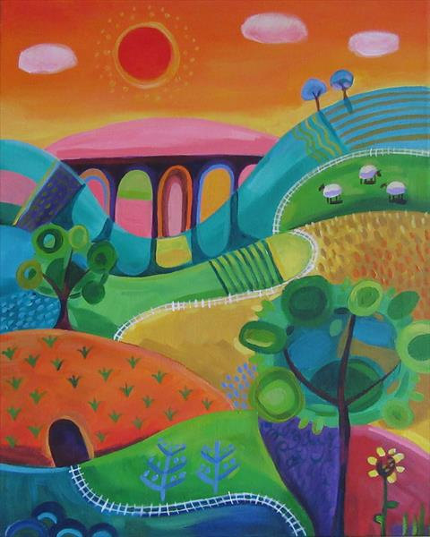 Railway arches by Emily Skinner