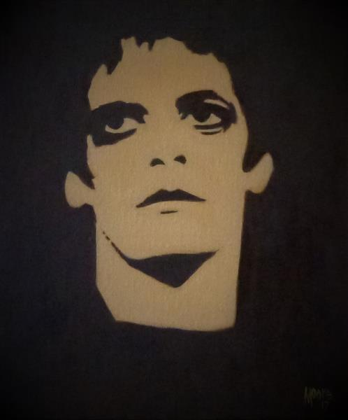 Lou Reed by David Moore