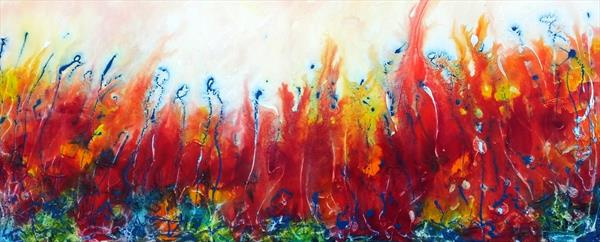Unique Abstract (Panoramic) by Hester Coetzee