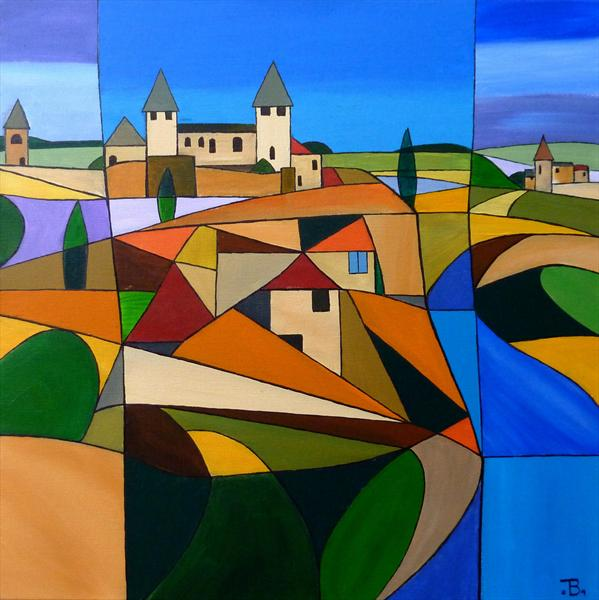 Perigord 2 by Tony Baden
