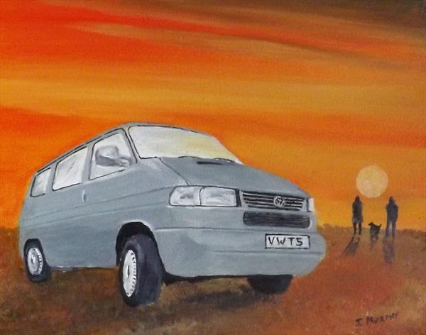 VW T5 SUNSET by JOHN MURPHY