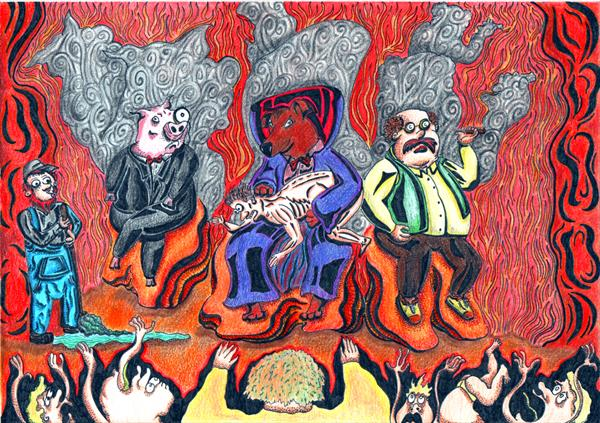 Executives of Hell by Thomas Sloan