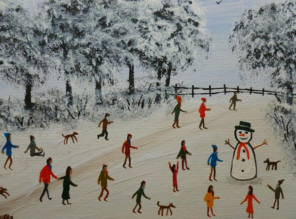 Snowman Delight by Stephen Casey