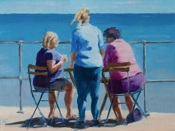 Seaside Tea by John Crabb