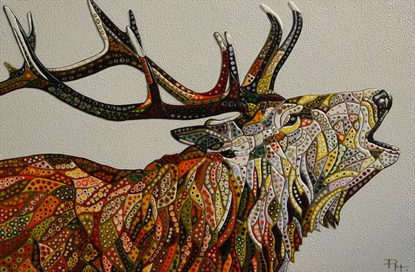 Abstract Deer 16 (Sculptural)