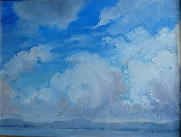 Blue Clouds by Sara Vertigan