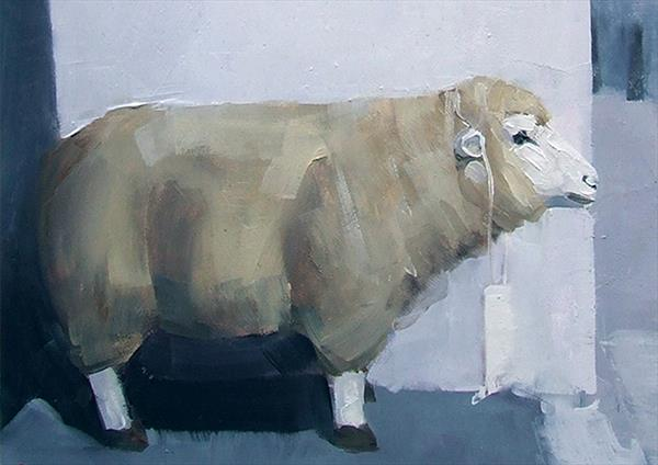 Another Otley Sheep by John Byrne