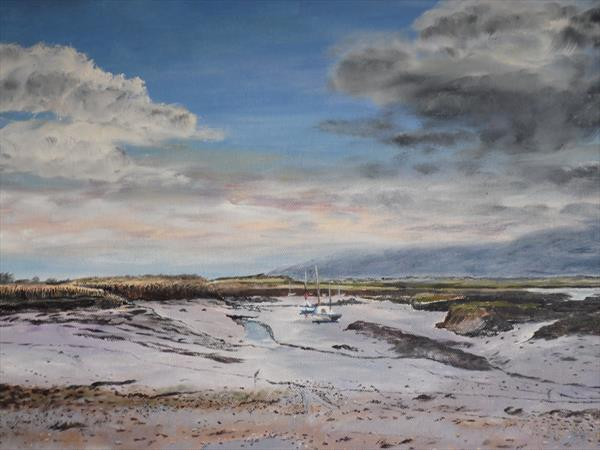 Grey skies over Norfolk by Philip Smith
