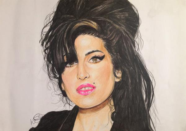 Amy Winehouse  by Holly Eccleston
