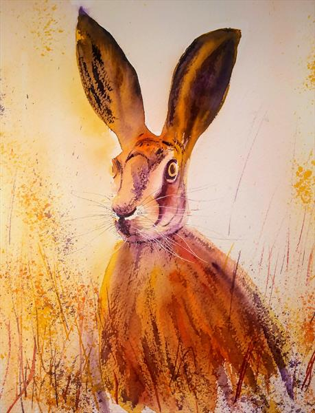 HARE - JUST THINKING by Gill Michael