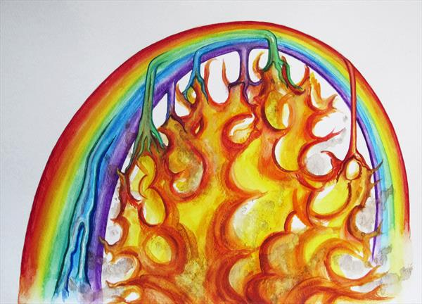 Incandescent Rainbow by Jacqueline Talbot