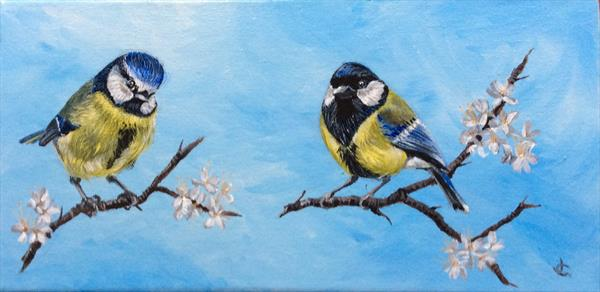 Feathered friends  by Jude Cottrell